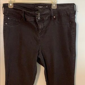 Torrid Denim black skinny jeans 16T